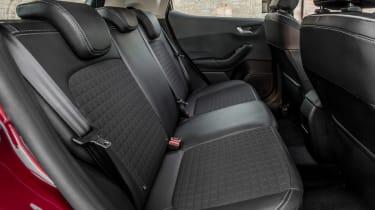 Ford Fiesta Titanium 2017 rear seats