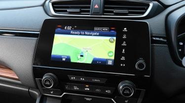 Honda CR-V hybrid - sat-nav