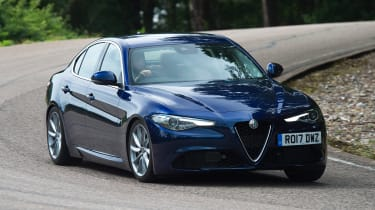 Alfa Romeo Giulia long term test - first report front action