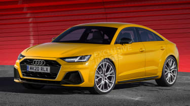 New Audi TT (watermarked) - front
