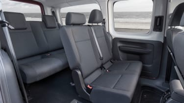 Volkswagen Caddy Life - rear seats