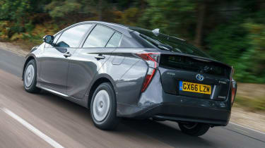 Used Toyota Prius - rear action