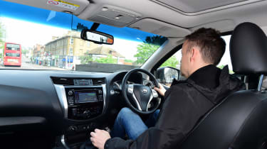 Nissan Navara long-term - Graham driving