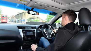 Nissan Navara long-term - Graham driving