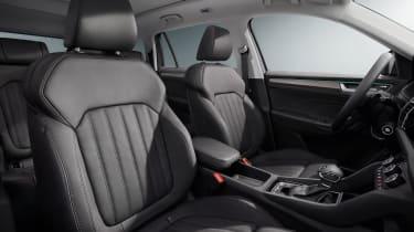 Skoda Kodiaq facelift - front seats