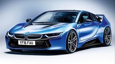 BMW i8M rendering