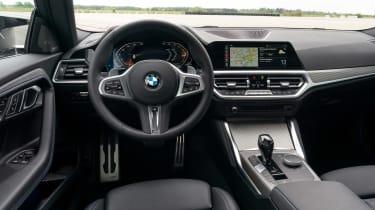 BMW 220i - dash