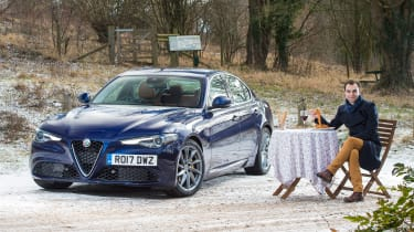Alfa Romeo Giulia long term test - first report header