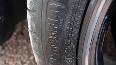 Used Mercedes GLA - tyre detail