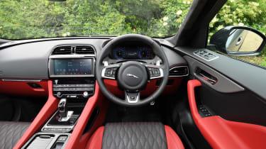 Jaguar F-Pace SVR - interior