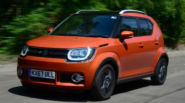 Suzuki Ignis - front driving