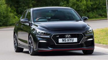 Hyundai i30 Fastback N - front action