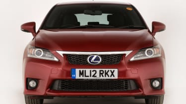 Used Lexus CT 200h - full front