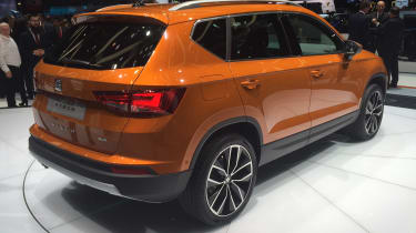 SEAT Ateca - Geneva show rear orange