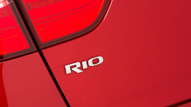 Used Kia Rio - Rio badge
