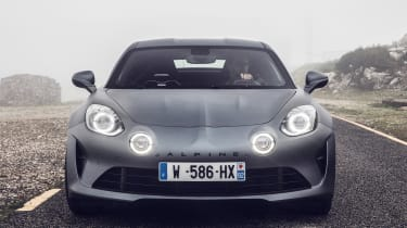 Alpine A110S - full front static