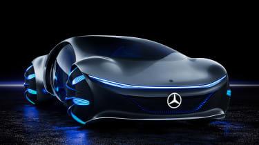 Mercedes Vision AVTR concept - front studio