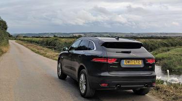 Jaguar F-Pace Portfolio rear