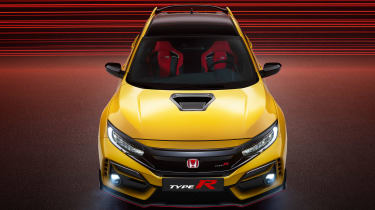 Honda Civic Type R Limited Edition - above
