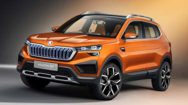 Skoda Vision IN concept - front