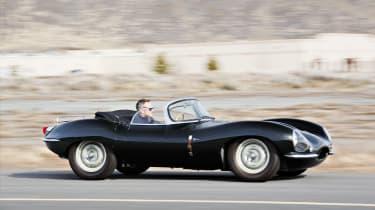 1957 Jaguar XKSS - side