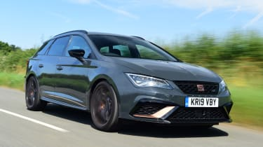 SEAT Leon Cupra R ST ABT - front tracking