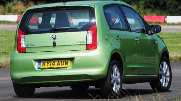 Used Car Awards 2016 - Skoda Citigo rear cornering