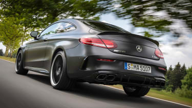 Mercedes-AMG C 63 S Coupe - rear tracking