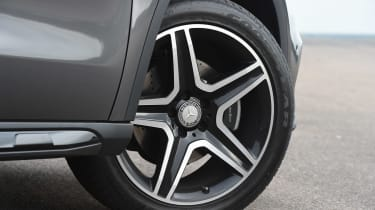 Mercedes GLA - wheel detail