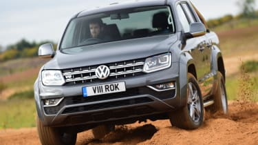 Volkswagen Amarok - off road