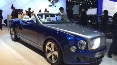 Bentley Grand Convertible front in LA
