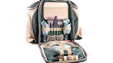 Greenfield Collection Deluxe Two Person Backpack Hamper
