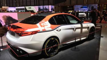 Alfa Romeo Giulia Quadrifoglio F1 Edition - Geneva rear