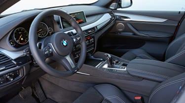 New BMW X6 M50d 2014 interior