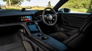 Porsche Taycan 4S Cross Turismo - cabin