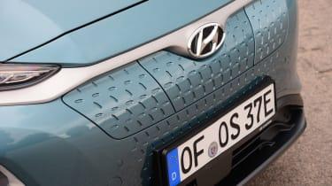 Hyundai Kona electric grille