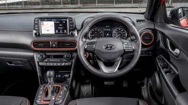 Hyundai Kona review - cockpit