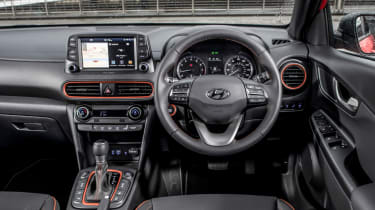 Hyundai Kona review - cockpit