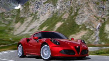 With unassisted steering the Alfa Romeo 4C should be a dream to drive on a back road, but in reality the wheel just feels odd.