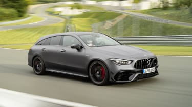 Mercedes-AMG CLA 45 Shooting Brake front
