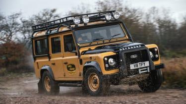 Land Rover Defender Works V8 Trophy - cornering