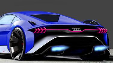 Audi RSQ e-tron Concept - rear