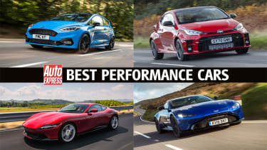 Best performance cars - header