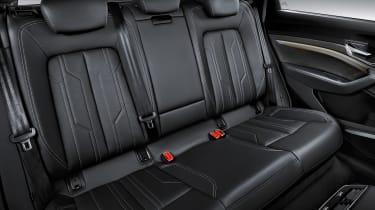 Audi e-tron - rear seats