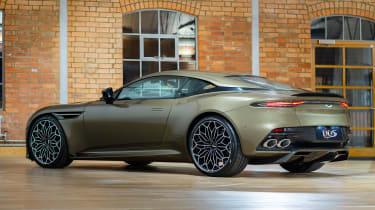 Aston Martin DBS Superleggera On Her Majesty's Secret Service - rear
