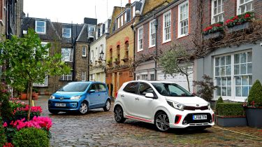 Kia Picanto vs Volkswagen up! - head-to-head