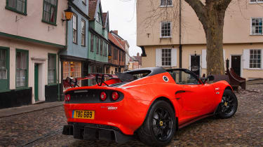 Lotus Elise Cup 250 rear side