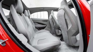 Jaguar I-Pace prototype 2017 - rear seats