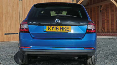Used Skoda Rapid Spaceback - full rear