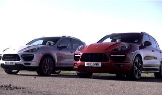 Porsche Cayenne Turbo vs Cayenne Turbo S